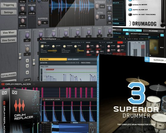 Drum Replacement Plugins to consider in 2020/21