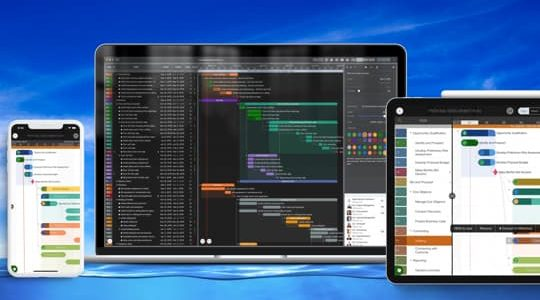 Are You Looking for One of the Best Gantt view Project Planning Apps on IOS and OSX with no monthly subscription?